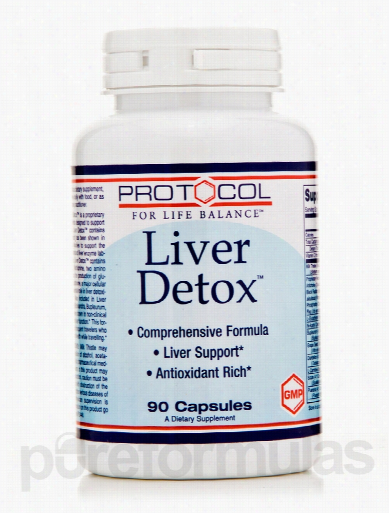 Protocol for Life Balance Cellular Support - Liver Detox - 90