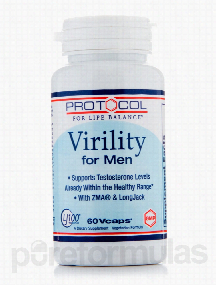 Protocol for Life Balance Men's Health - Virility For Men - 60