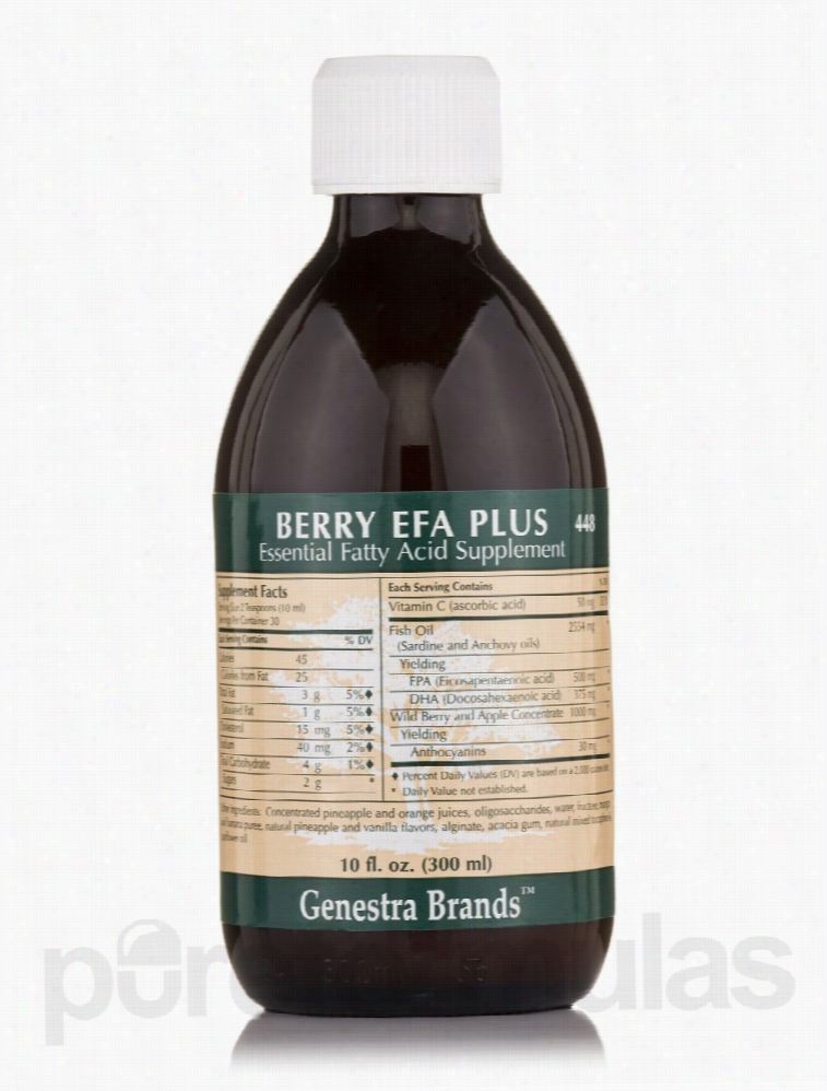 Seroyal Essential Fatty Acids - Berry EFA Plus - 10 fl. oz (300 ml)