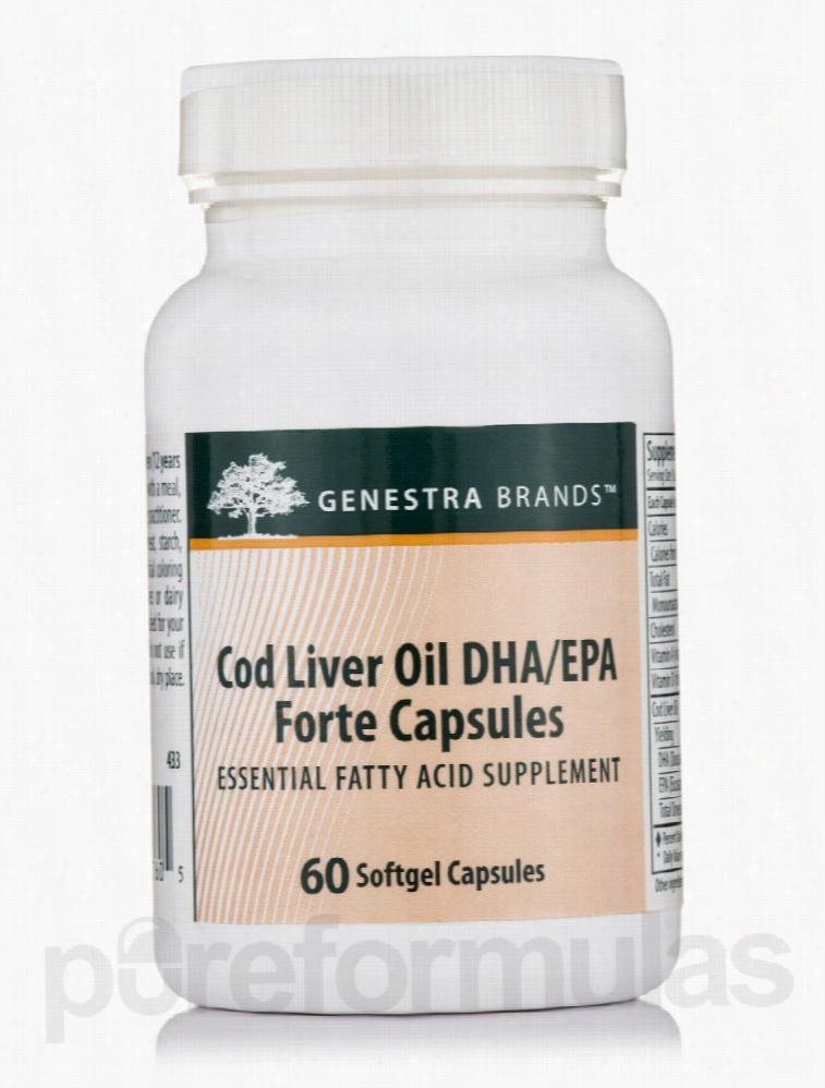 Seroyal Essential Fatty Acids - Cod Liver Oil DHA/EPA Forte - 60