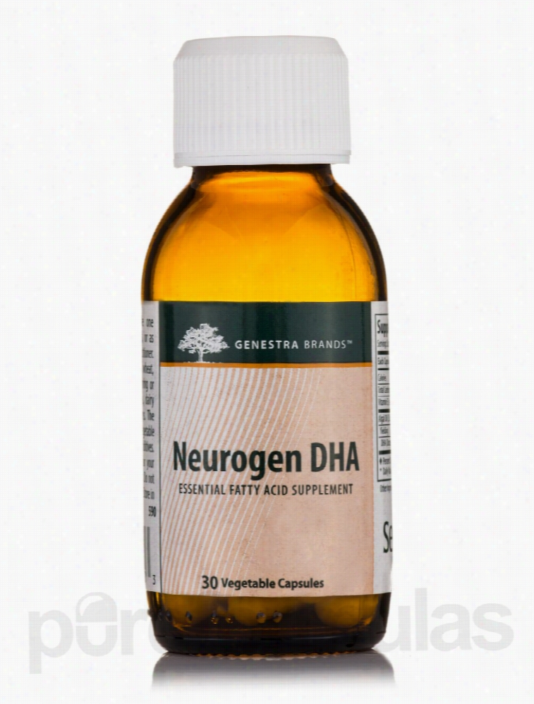 Seroyal Essential Fatty Acids - Neurogen DHA - 30 Vegetable Capsules