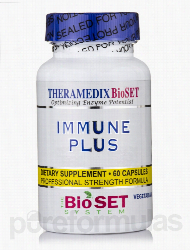 Theramedix Immune Support - Immune Plus - 60 Vegetarian Capsules