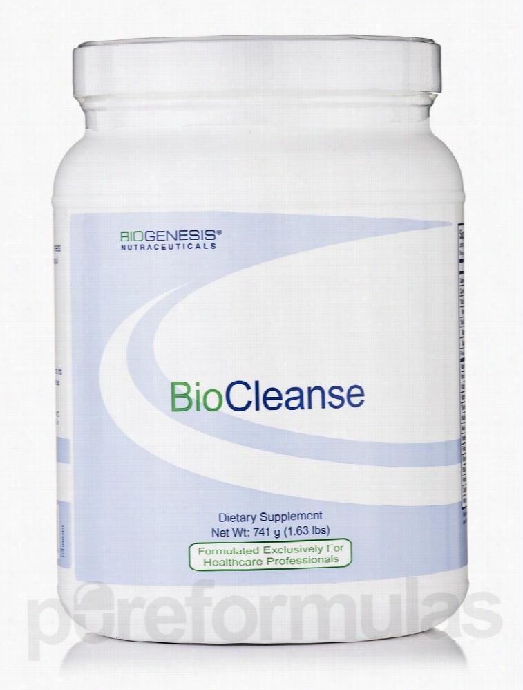 Biogenesis Nutraceuticals Detoxification - BioCleanse - 1.63 lbs (741