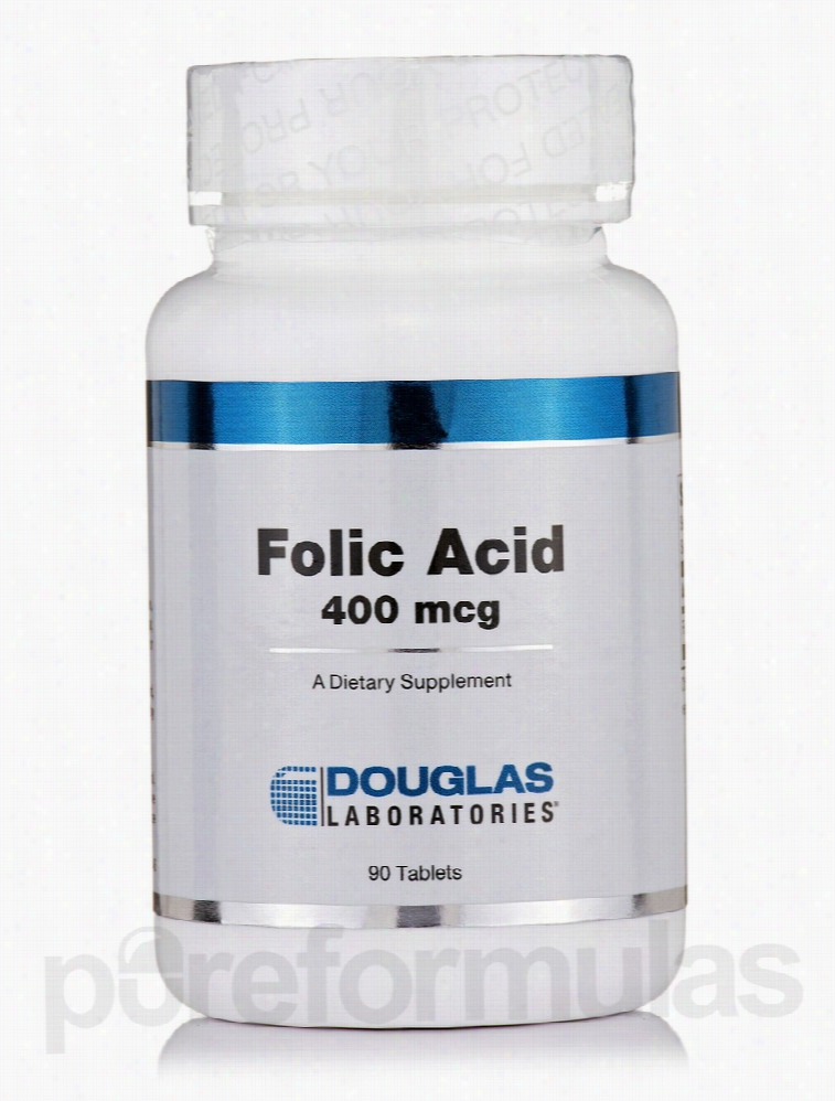 Douglas Laboratories Cardiovascular Support - Folic Acid 400 mcg - 90
