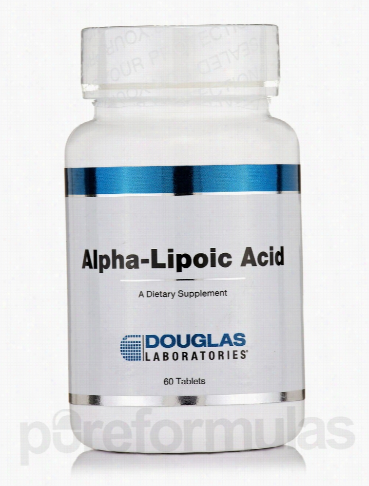 Douglas Laboratories Cellular Support - Alpha-Lipoic Acid - 60 Tablets