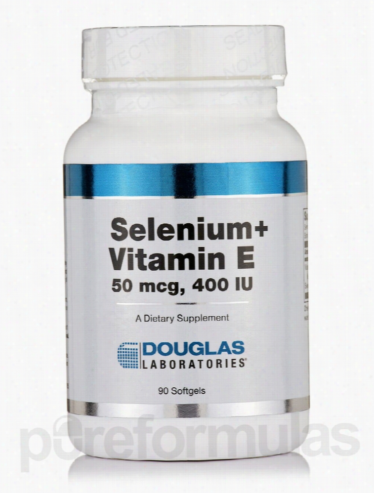 Douglas Laboratories Cellular Support - Selenium + Vitamin E - 90