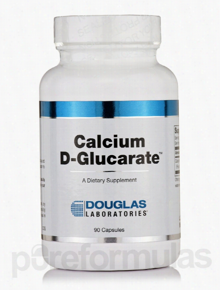 Douglas Laboratories Detoxification - Calcium D-Glucarate - 90