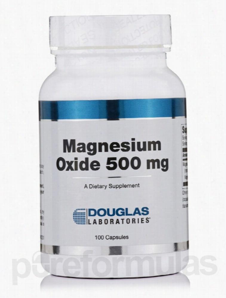 Douglas Laboratories Detoxification - Magnesium Oxide 500 mg - 100