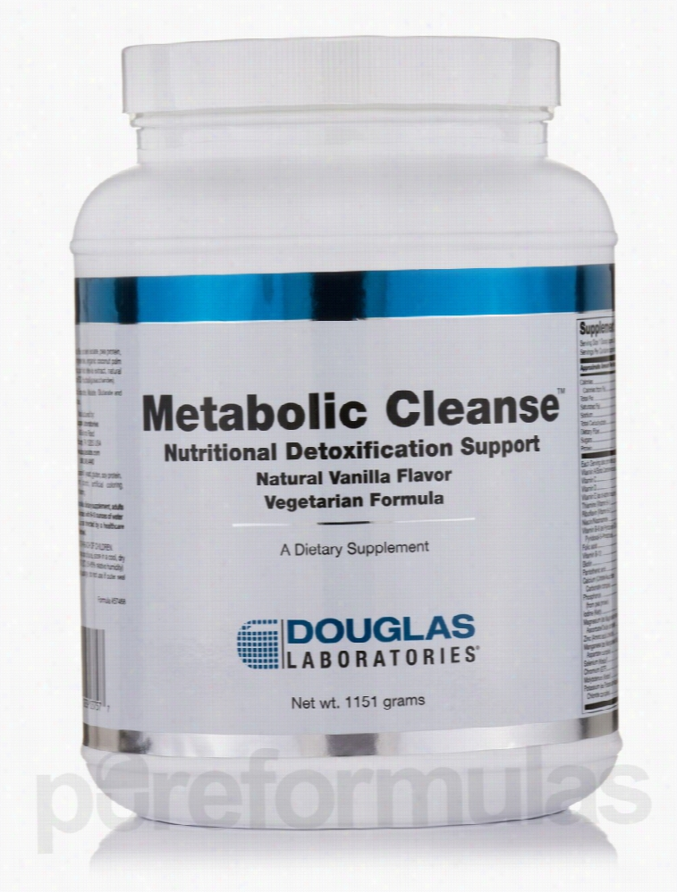 Douglas Laboratories Detoxification - Metabolic Cleanse Vegetarian