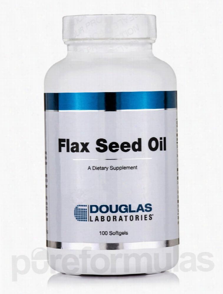 Douglas Laboratories Essential Fatty Acids - Flax Seed Oil - 100