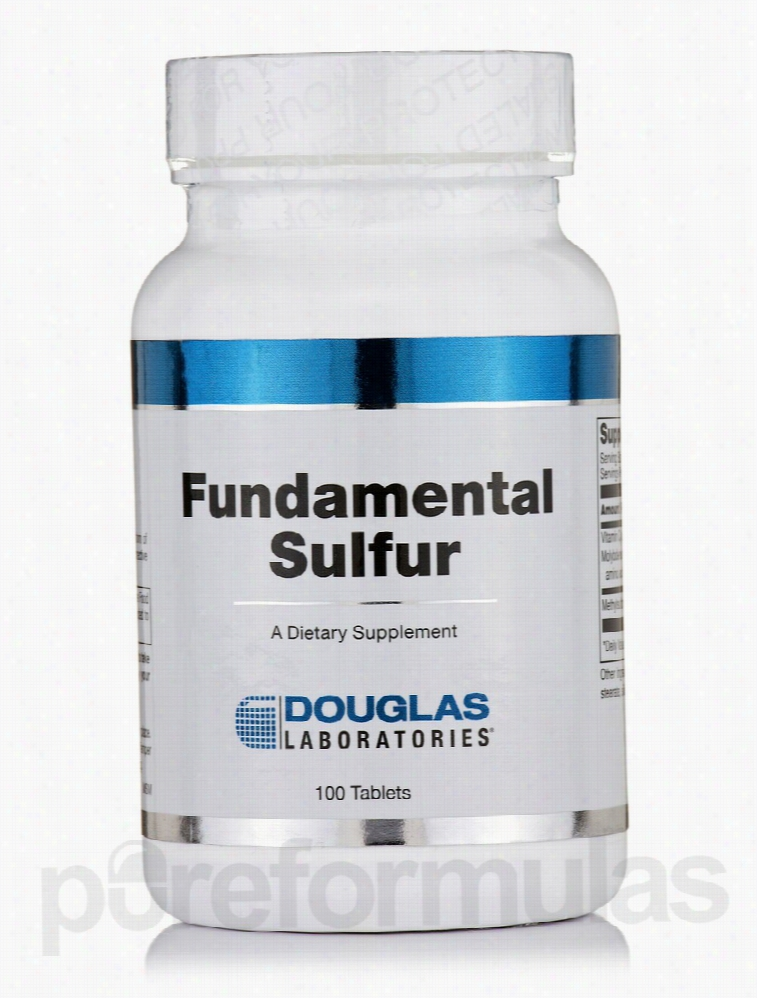 Douglas Laboratories Immune Support - Fundamental Sulfur - 100 Tablets