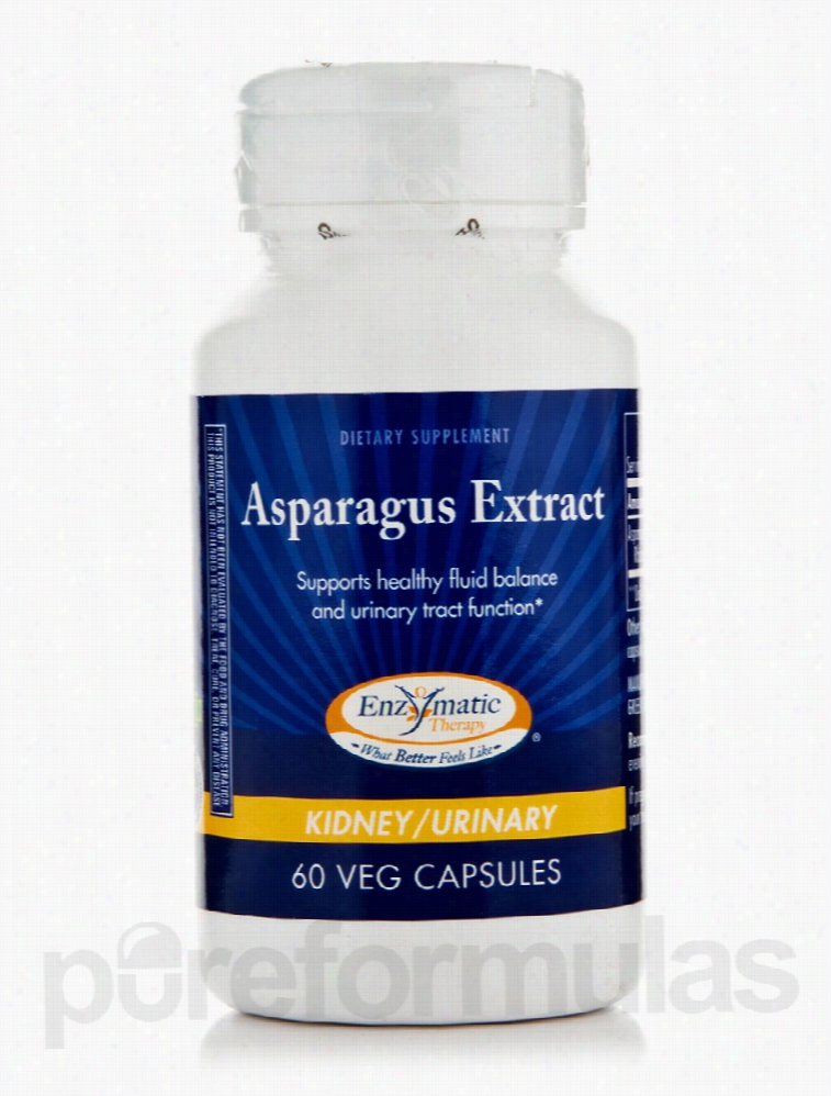 Enzymatic Therapy Detoxification - Asparagus Extract - 60 Vegetarian