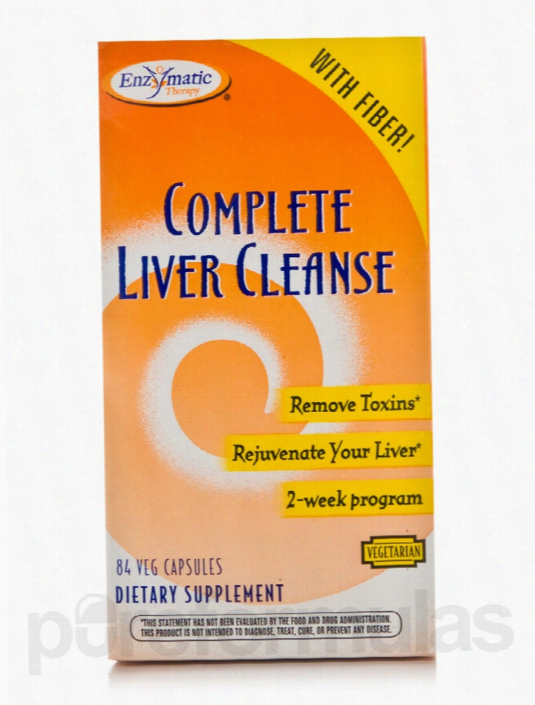Enzymatic Therapy Detoxification - Complete Liver Cleanse - 84