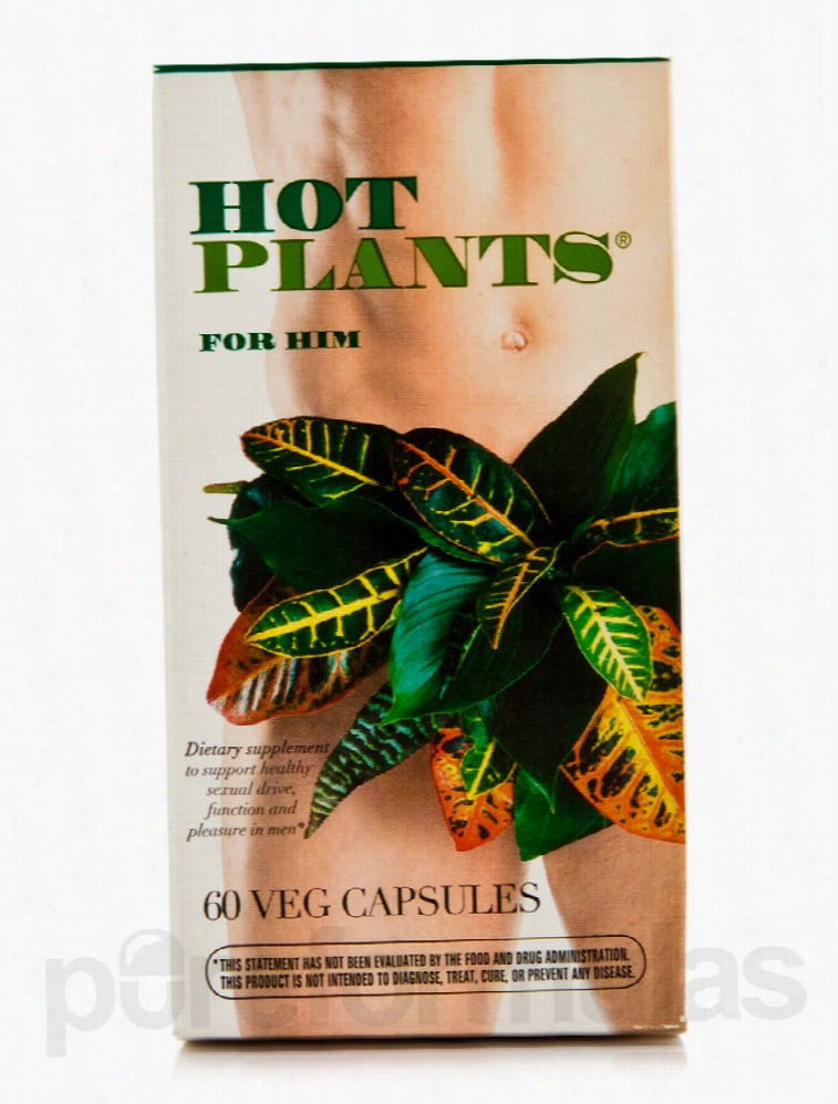 Enzymatic Therapy Herbals/Herbal Extracts - Hot Plants for Him - 60
