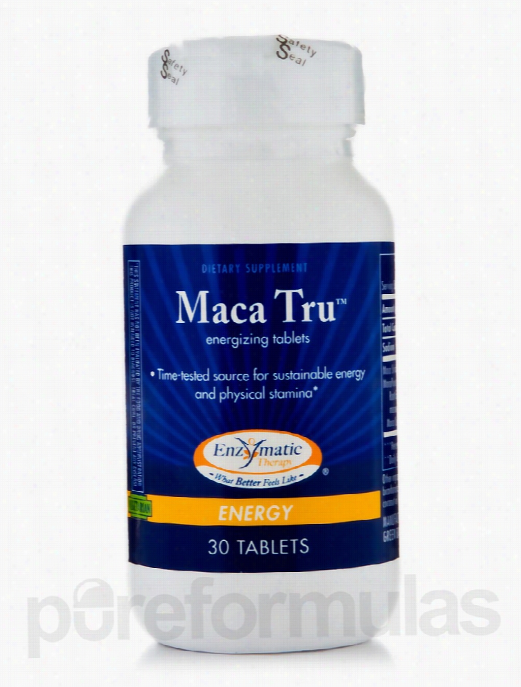 Enzymatic Therapy Hormone/Glandular Support - Maca Tru - 30 Tablets
