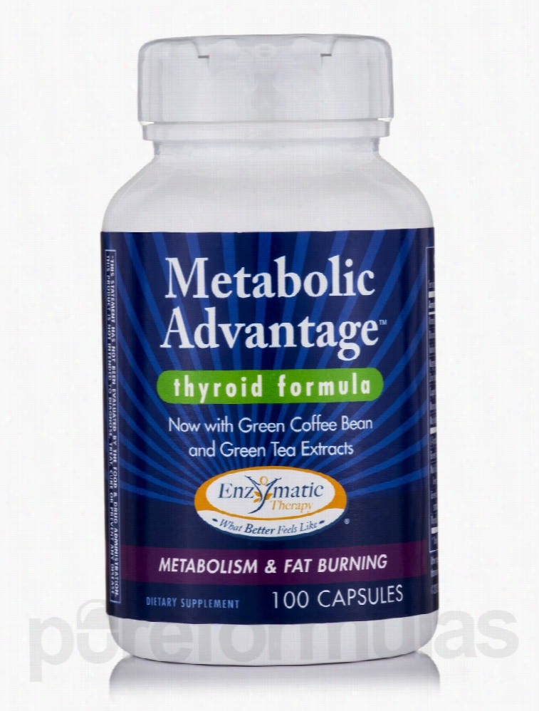 Enzymatic Therapy Metabolic Support - Metabolic Advantage Thyroid