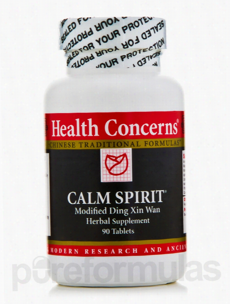 Health Concerns Aches and Pains - Calm Spirit - 90 Tablets