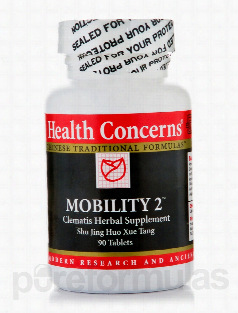 Health Concerns Cardiovascular Support - Mobility 2 - 90 Tablets