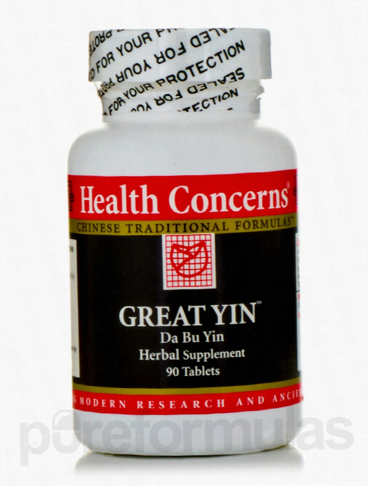 health Concerns General Health - Great Yin - 90 Tablets