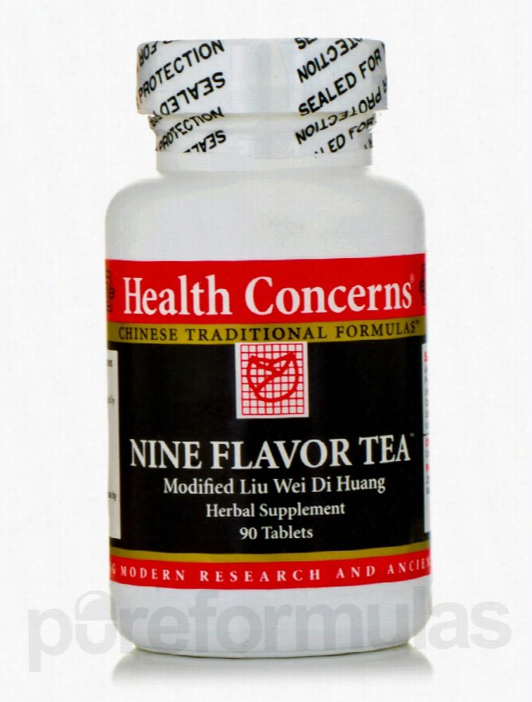 Health Concerns General Health - Nine Flavor Tea - 90 Tablets