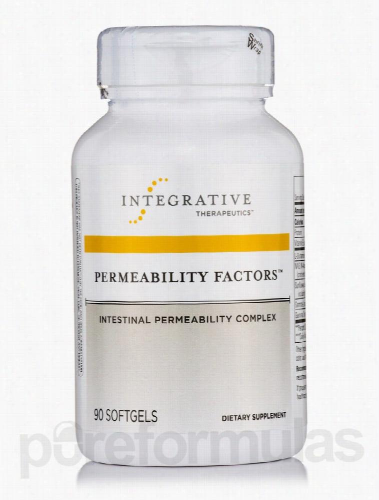 Integrative Therapeutics Essential Fatty Acids - Permeability Factors