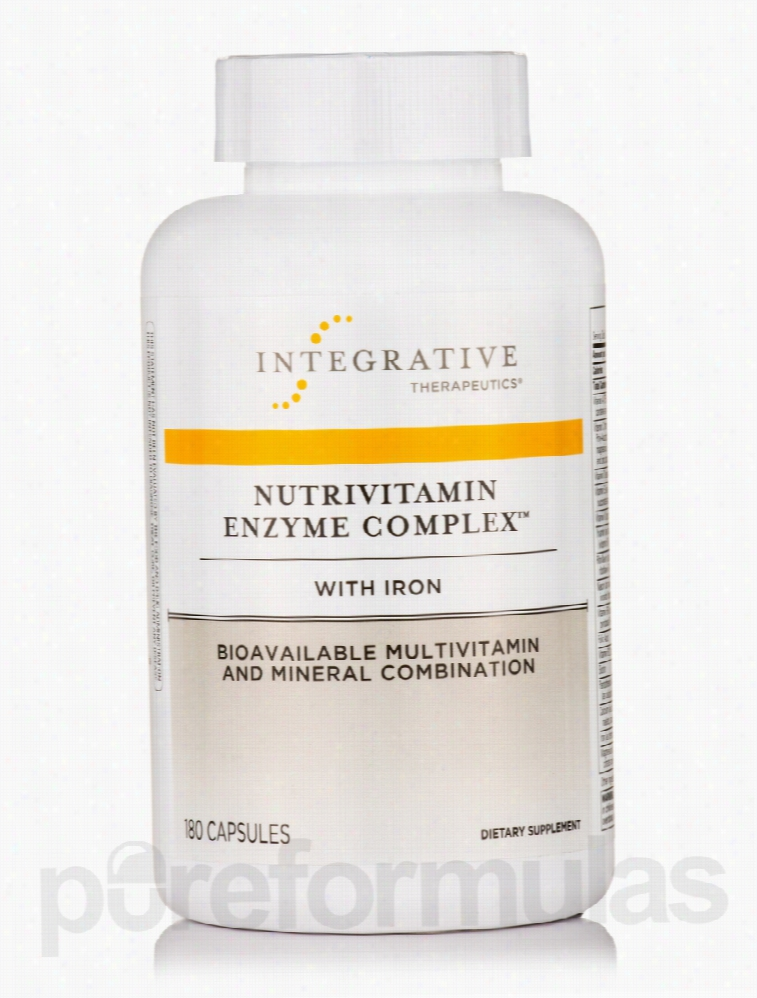 Integrative Therapeutics Minerals - NutriVitamin Enzyme Complex with