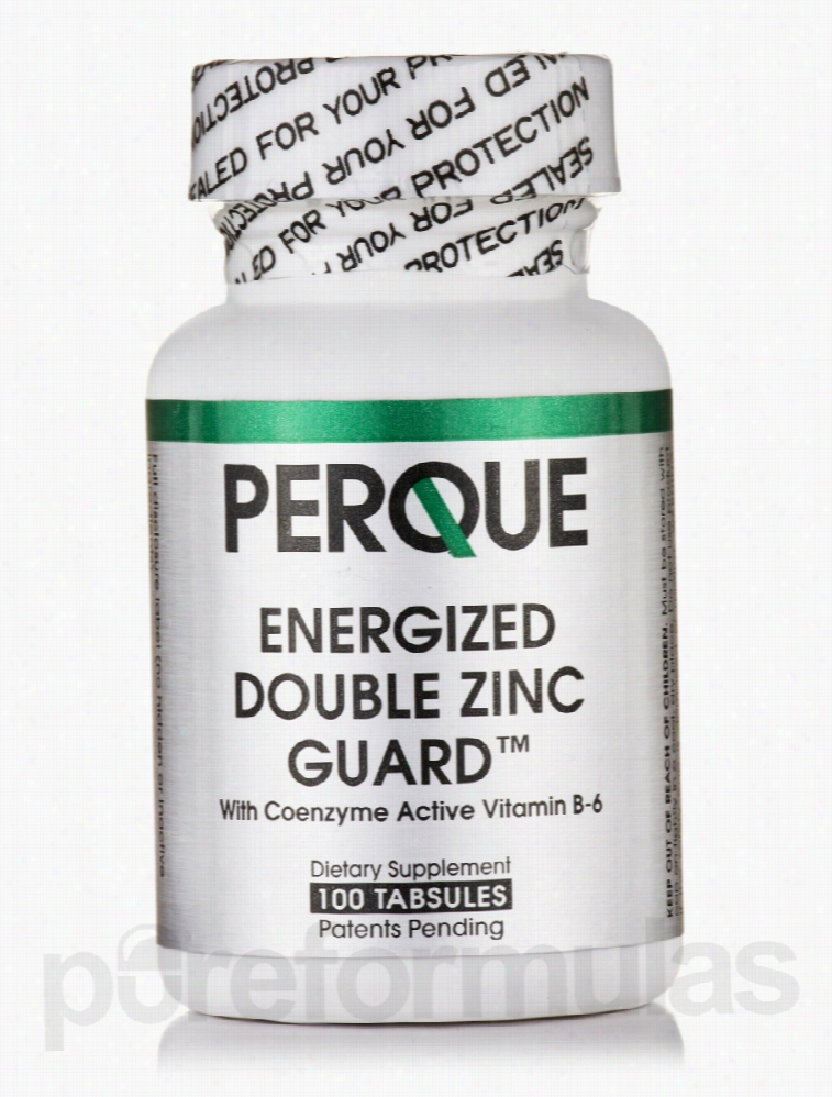 perque Immune Support - Energized Double Zinc Guard - 100 Tabsules