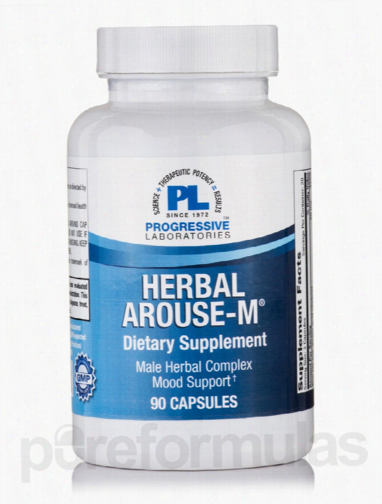 Progressive Labs Herbals/Herbal Extracts - Herbal Arouse-M - 90