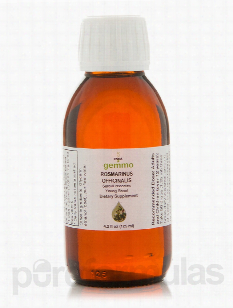 Seroyal Allergy Relief - GEMMO - Rosmarinus Officinalis - 4.2 fl. oz