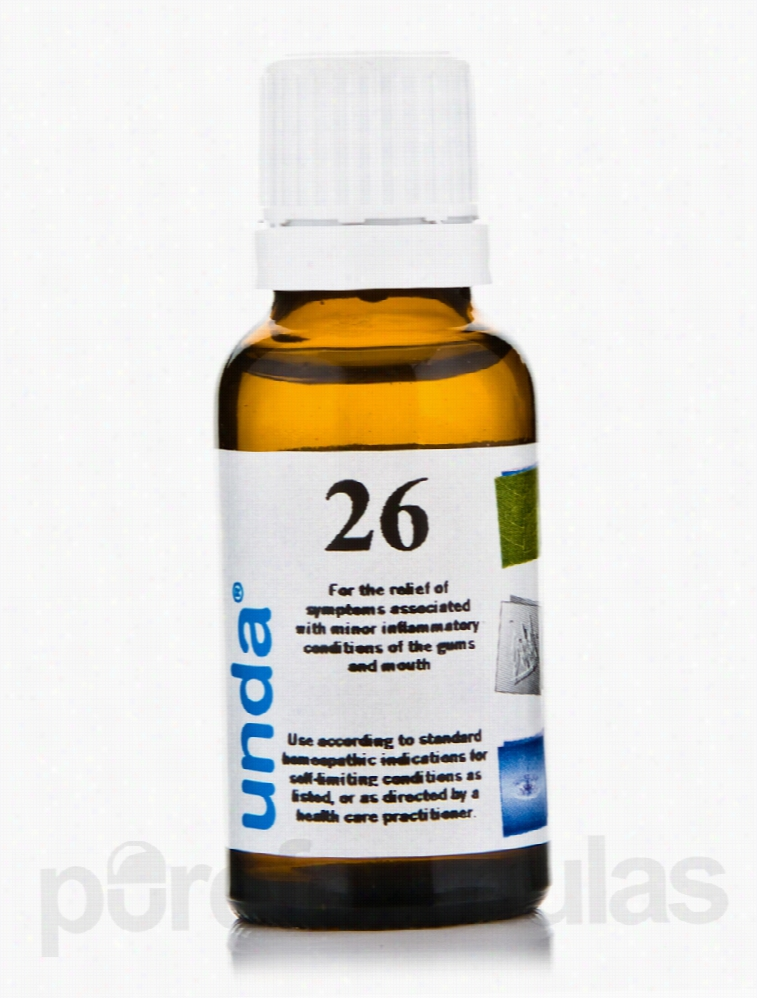 Seroyal Homeopathic Remedies - Unda #26 - 0.7 fl. oz (20 ml)