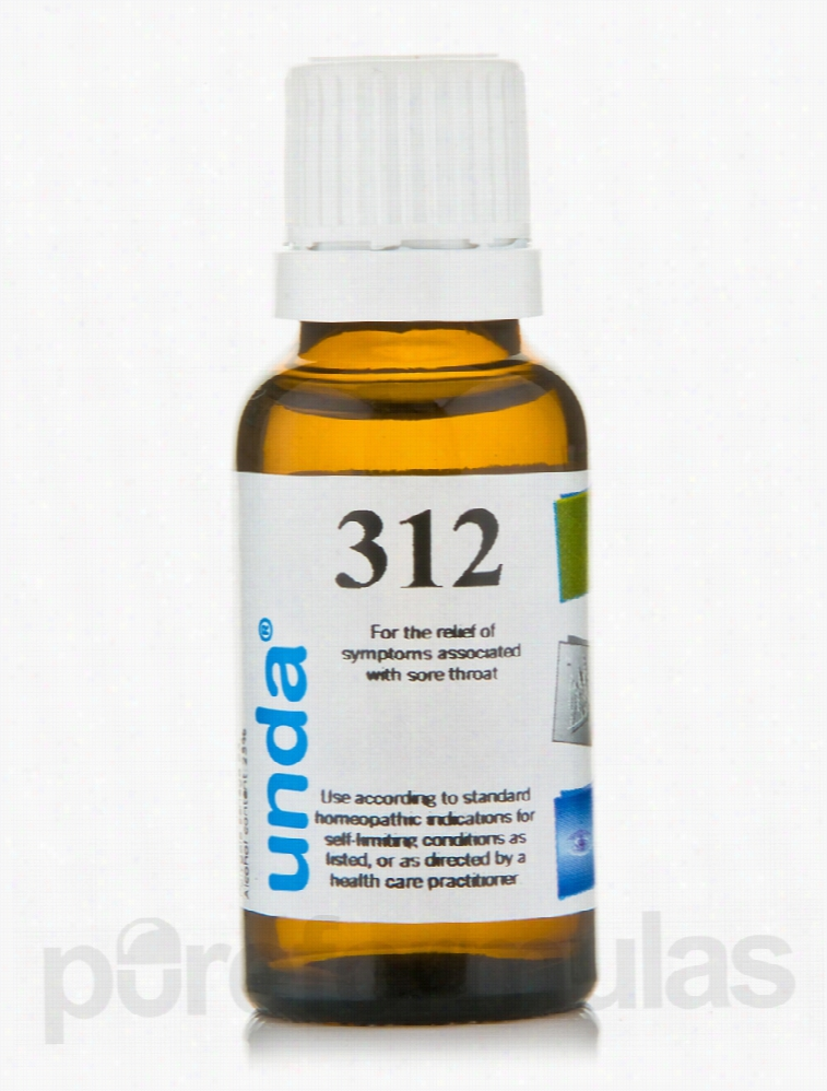 Seroyal Homeopathic Remedies - Unda #312 - 0.7 fl. oz (20 ml)