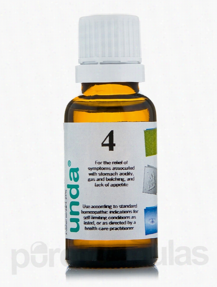 Seroyal Homeopathic Remedies - Unda #4 - 0.7 fl. oz (20 ml)