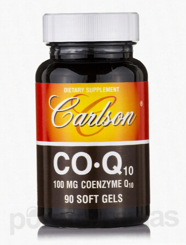 Carlson Labs Antioxidants - CoQ10 100 mg - 90 Soft Gels