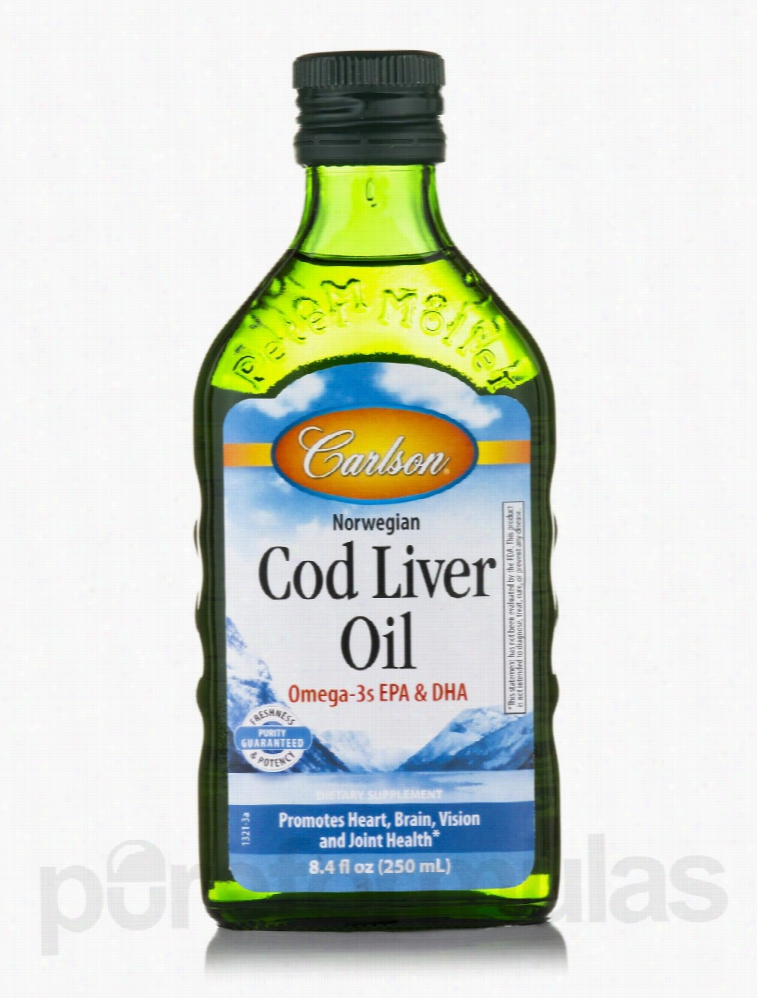 Carlson Labs Essential Fatty Acids - Norwegian Cod Liver Oil