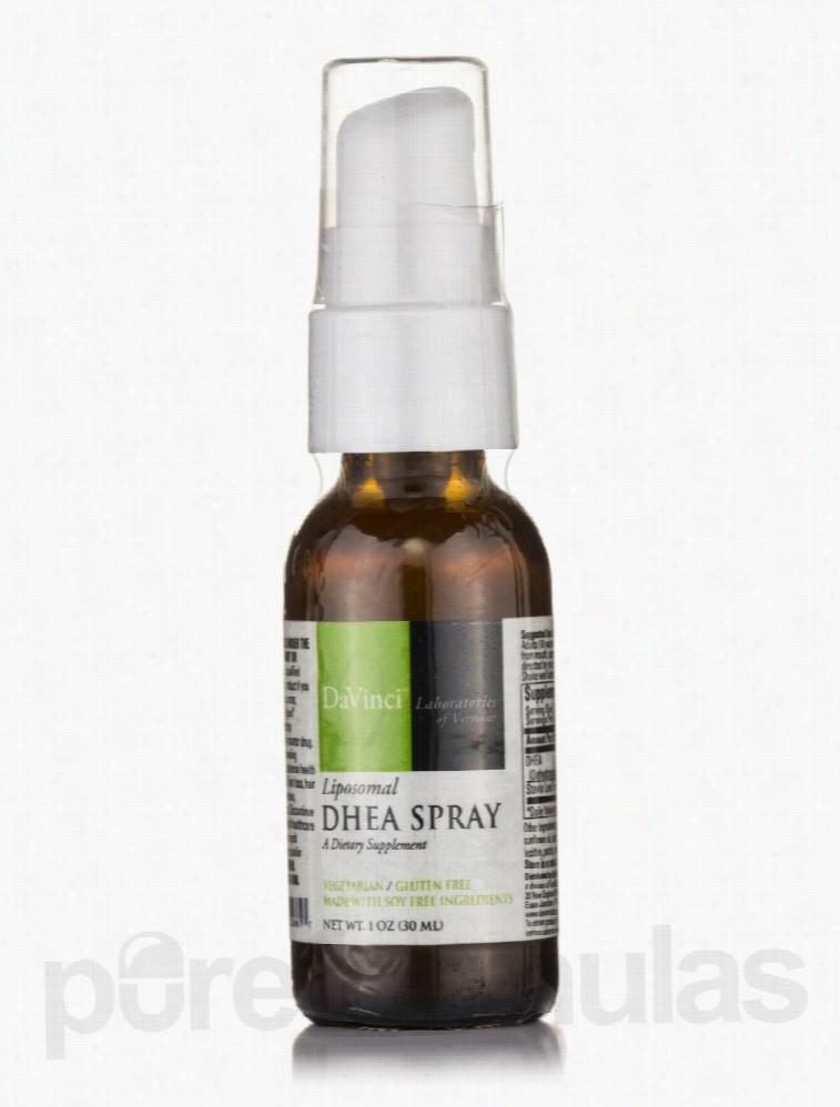 DaVinci Labs Hormone/Glandular Support - DHEA Spray (Liposomal) - 1 oz