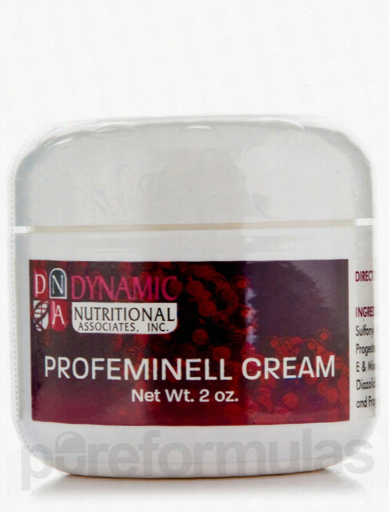 Dynamic Nutritional Associates Inc Women's Health - Profeminell Cream