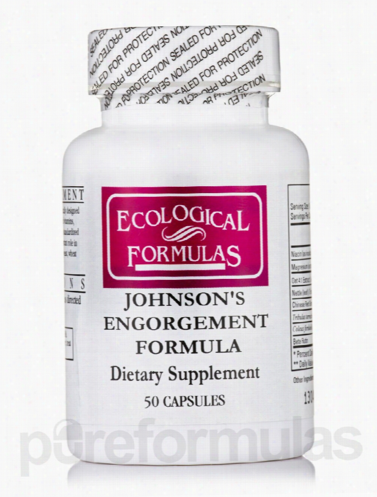 Ecological Formulas Men's Health - Johnson's Engorgement Formula - 50