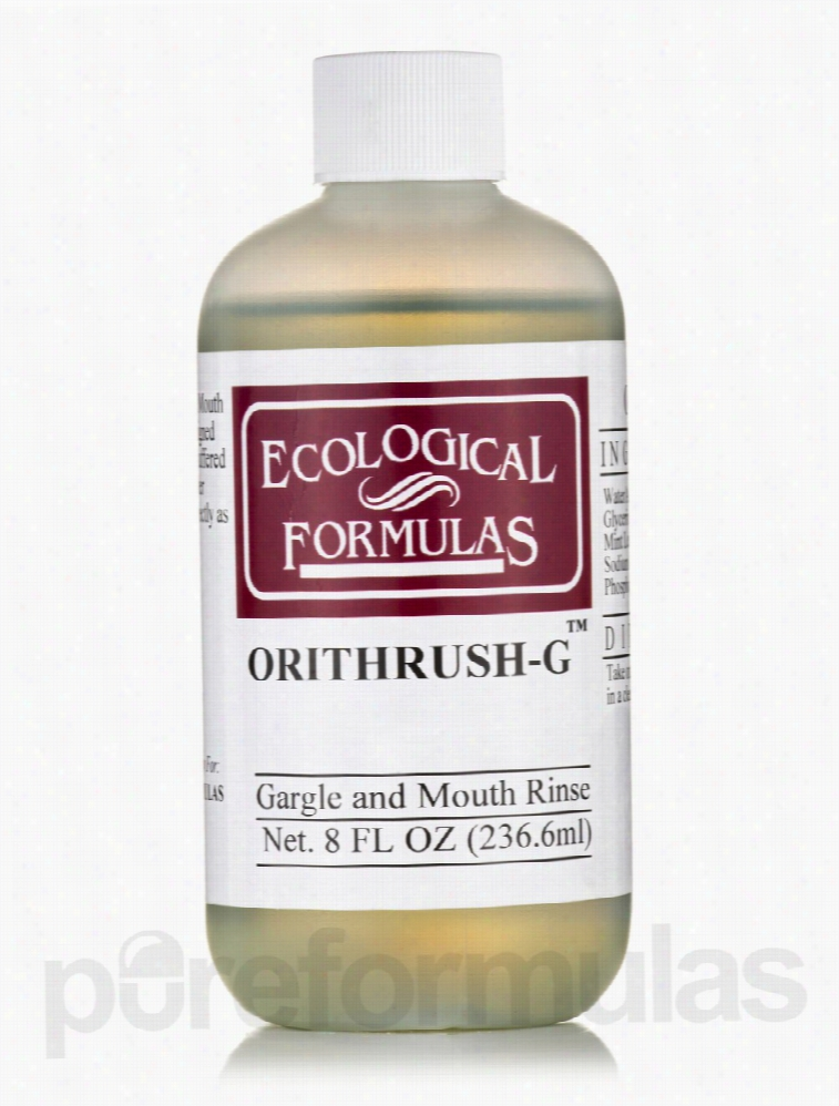 Ecological Formulas Oral Health - Orithrush-G - 8 fl. oz (236.6 ml)