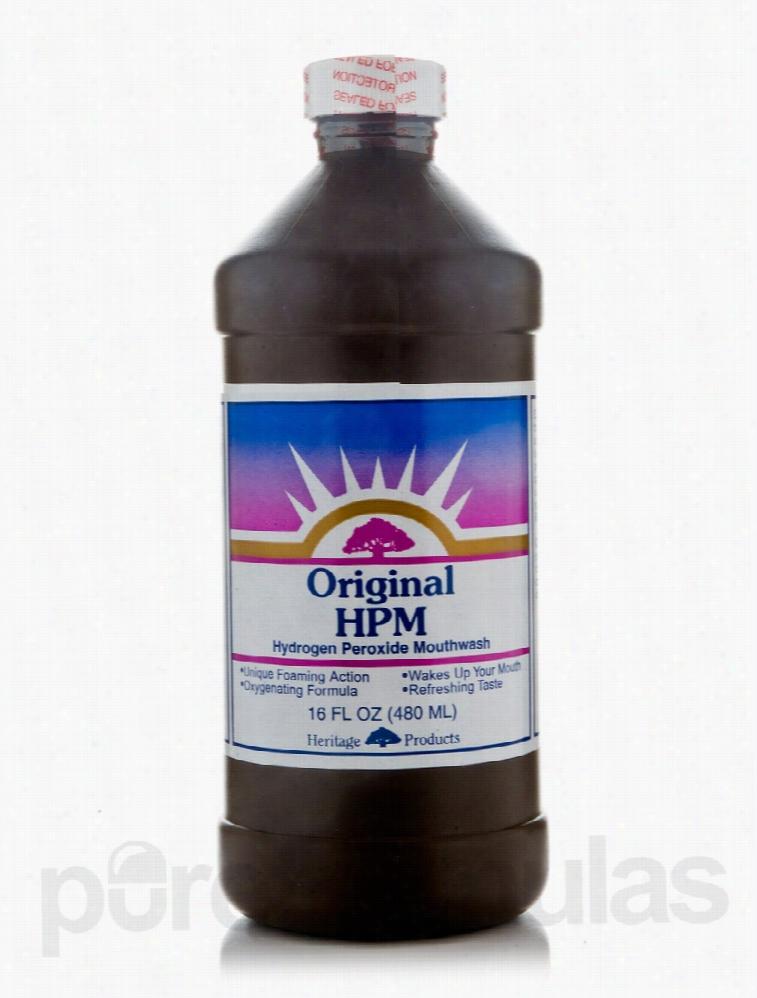 Heritage Oral Health - Original HPM (Hydrogen Peroxide Mouthwash) - 16