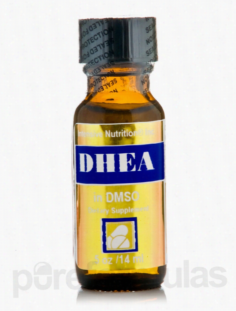 Intensive Nutrition Hormone/Glandular Support - DHEA in DMSO 5 mg