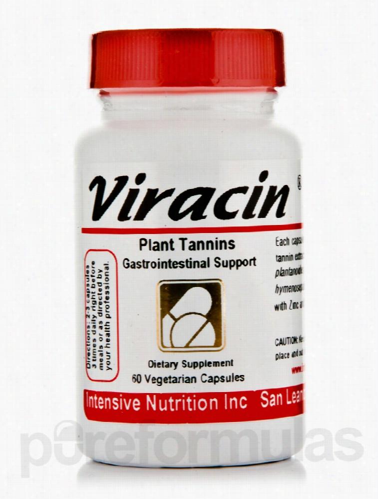 Intensive Nutrition Immune Support - Viracin - 60 Vegetarian Capsules