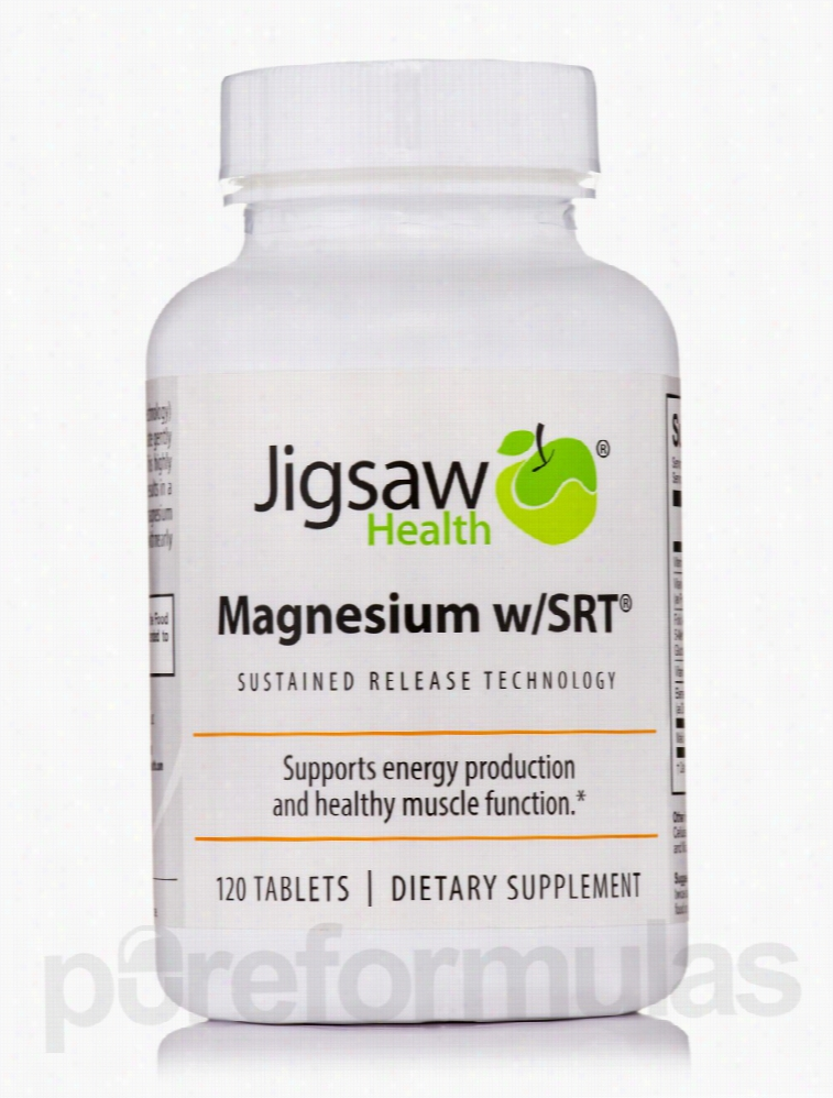 Jigsaw Health Minerals - Magnesium with SRT - 120 Tablets