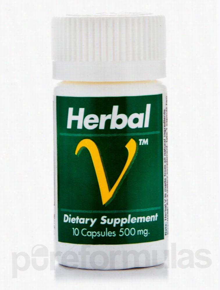 Lane Labs Men's Health - Herbal V Ultra Male Potency Formula 500 mg -