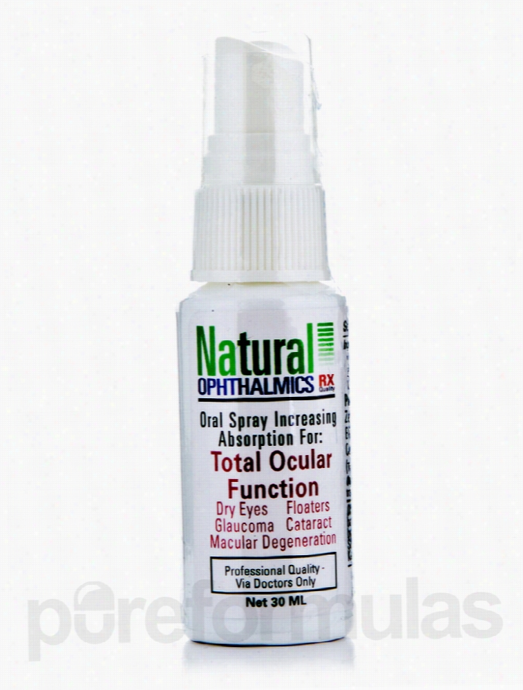 Natural Ophthalmics Homeopathic Remedies - Total Ocular Function Oral