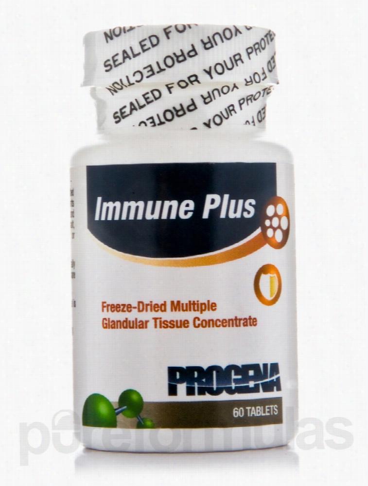 Progena Hormone/Glandular Support - Immune Plus - 60 Tablets