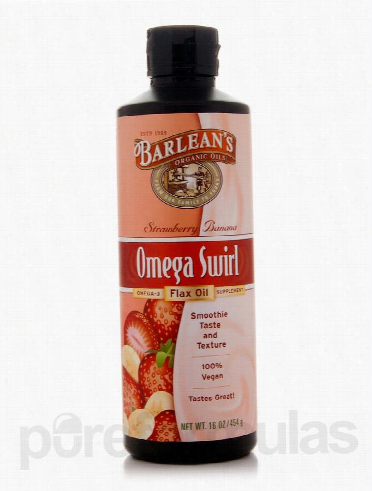 Barlean's Organic Oils Essential Fatty Acids - Omega Swirl Flax Oil