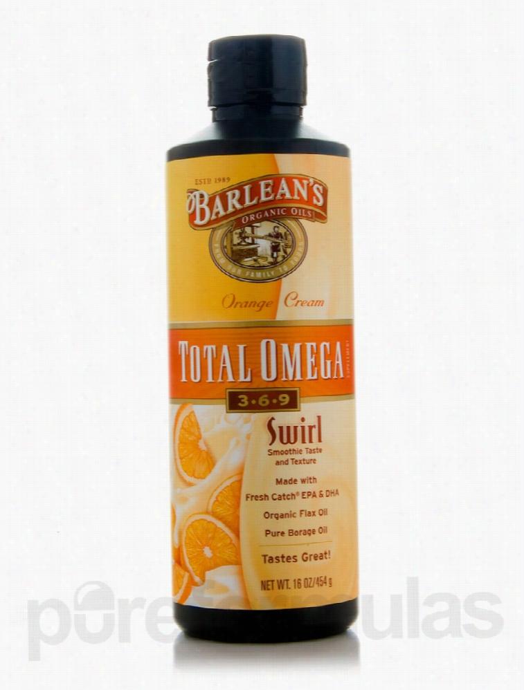 Barlean's Organic Oils Essential Fatty Acids - Total Omega 3-6-9 Swirl