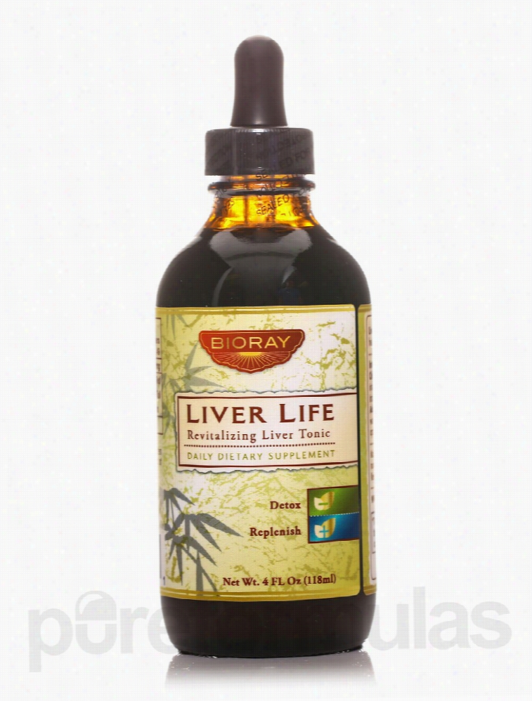 BioRay Detoxification - Liver Life - 4 fl. oz (118 ml)