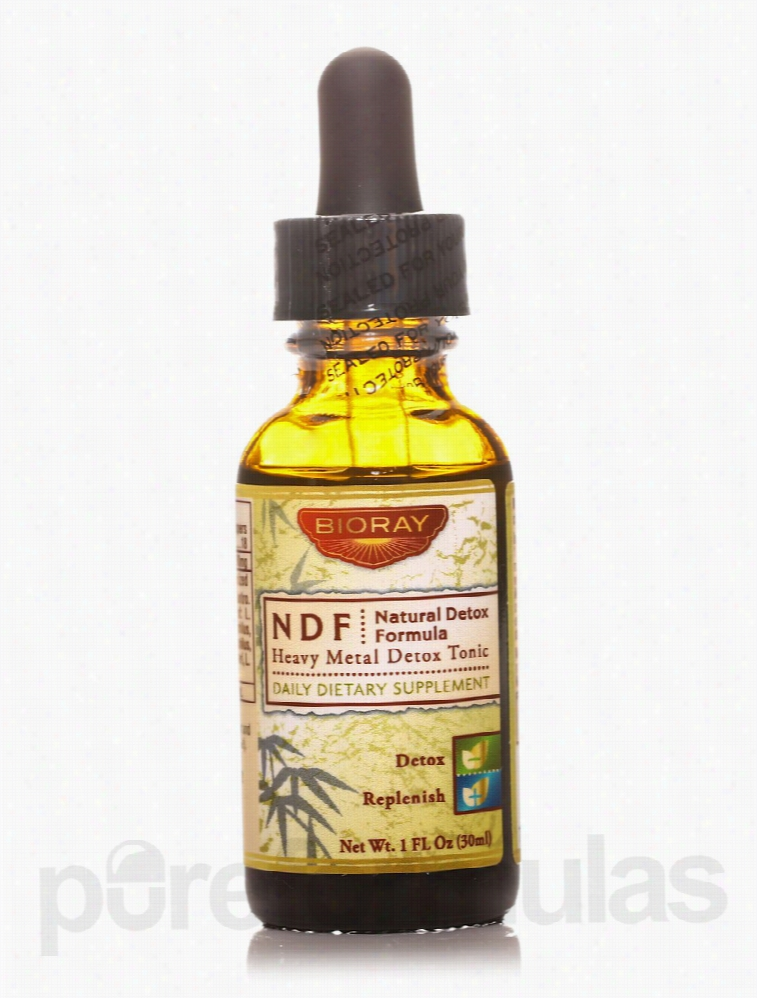 BioRay Detoxification - NDF (Natural Detox Formula) - 1 fl. oz (30 ml)