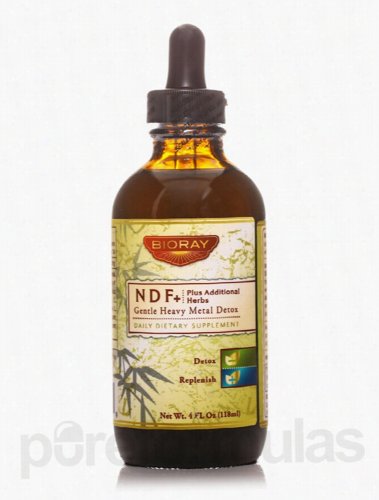 BioRay Detoxification - NDF+ (Natural Detox Formula - Plus Additional